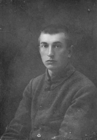 """Skaitmeninis vaizdas """"Vincas Dovydaitis 1920 metais"""". 2016"""