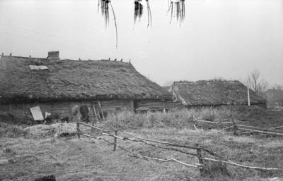 "Algirdas Kubilius. Fotonegatyvas ""Troba ir tvartas"". 1966-08-19"