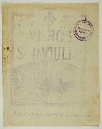 Laikraštėlių kolekcija : Aušros spinduliai. - 1921-1922. 125 : Nr.7-8, rugsėjis ir spalis, 1921 m. - 1921.IX-X. - 18, [1] p.