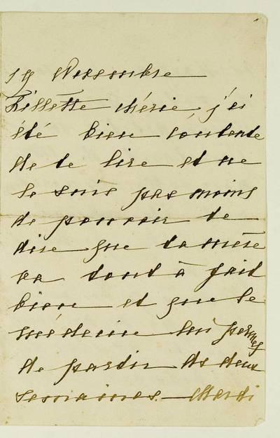Kosakovskių šeimos archyvas. 4 : Kosakovskių korespondencija. - 1670-1918. 406 : [Neišaiškinto asmens laiškai Elžbietai Bisping-Kosakovskai?]. - 19--