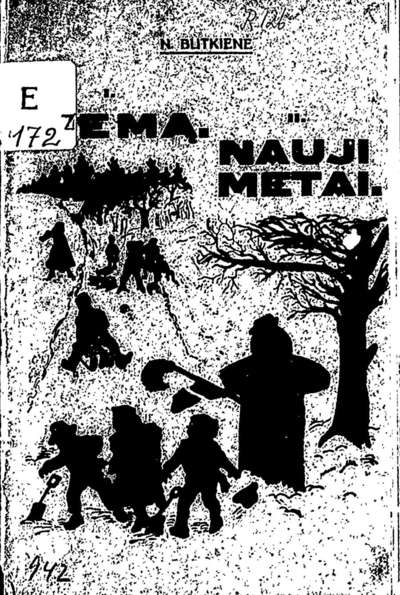 Vaikų veikalai / N. Butkienė. - 1929. - 32 p.