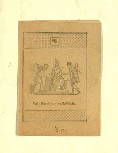 VIII. - apie 1935]. - [4] p.