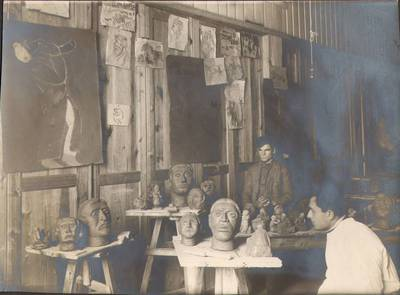 """Nežinomas fotografas. Fotografija. """"Meno išdirbiniai"""". 1924"""