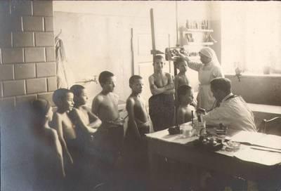 Nežinomas fotografas. Fotografija. Sanatorijos skyrius. 1924
