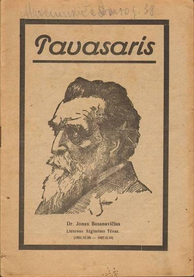PAVASARIS. 1927-02-28