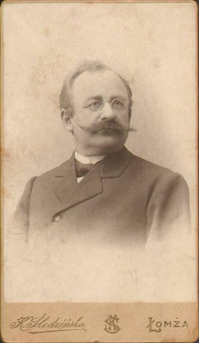 K. Śledzińska. Ksaveras Sakalauskas-Vanagėlis. 1900