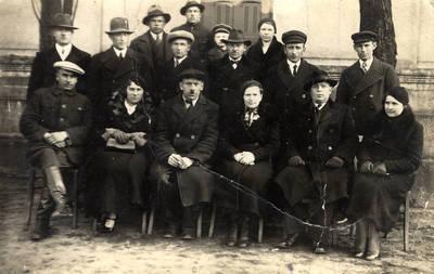 Visuotinis darbininkų suvažiavimas su Pagėgių skyriaus geležinkelio darbuotojais,1938 m.