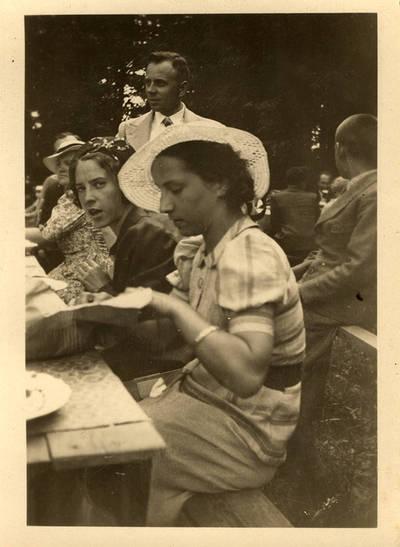 Ieva Vanagaitytė Rambyne 1937 m. 1937