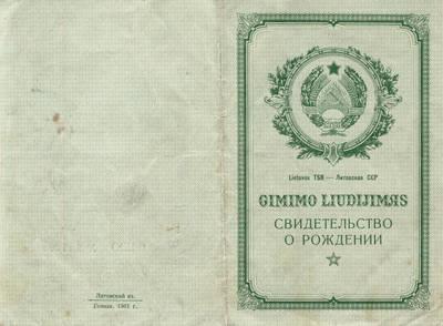 Kunigo Bronislovo Šveikausko gimimo liudijimas. 1969-01-23