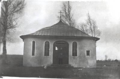Pagėgių evangelikų liuteronų kapiniųkoplyčia. 1964