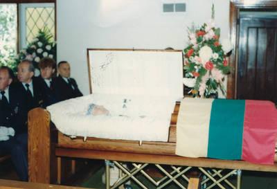 Elzės Jankutės laidotuvės. 1985