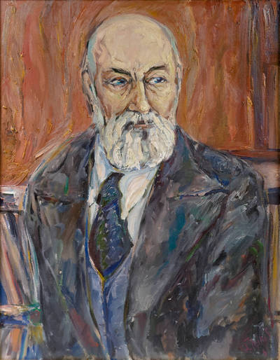 Martyno Jankaus portretas. 1981