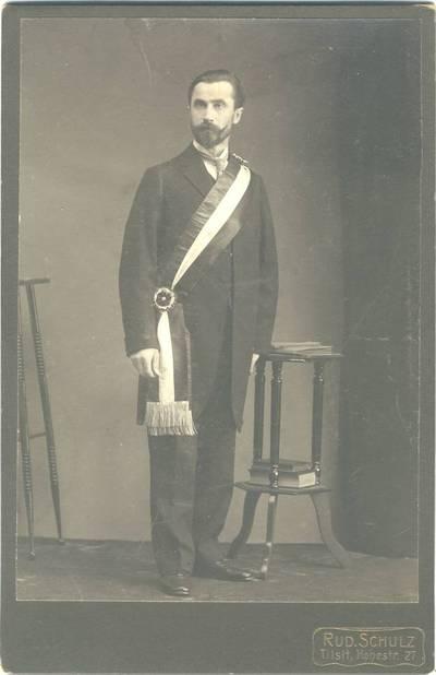 Birutės draugijos pirmininkas Jonas Vanagaitis