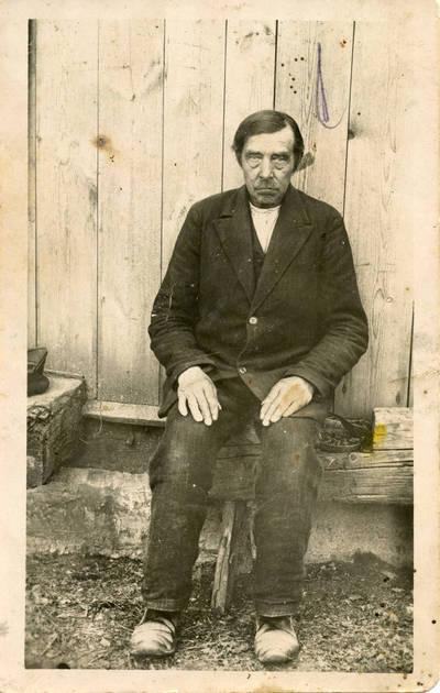 Knygnešys Mikalojus Garmus. 1926