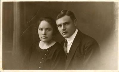 Adelė ir Balys Garmai. 1924