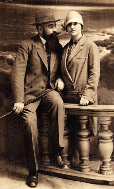 Petras Rasteika ir Ona Rasteikienė (Andrejaitytė). 1922