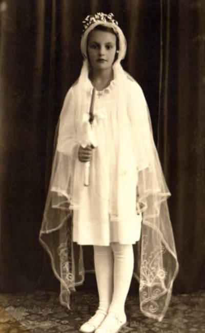 Marijos Rasteikaitės Pirmoji Komunija. 1939