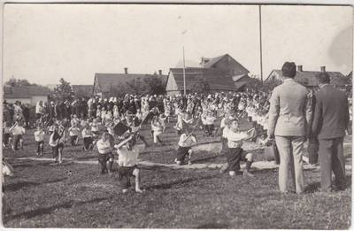 Nežinomas XX a. I p. fotografas. Marijampolės mokinių šventė
