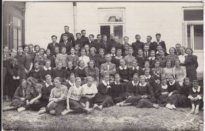 Jakovas Vincbergas. Marijampolės mokytojų seminarijos choras 1939–40 m. 1939
