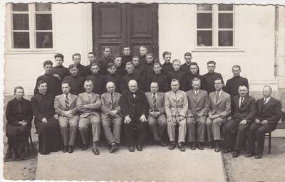 Jakovas Vincbergas. Marijampolės Rygiškių Jono gimnazijos abiturientai 1938m. 1938