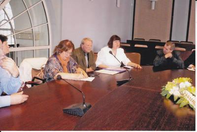 Algimantas Lelešius. Pasitarimas Švietimo ministerijoje dėl Pasipriešinimo istorijos egzamino 10-ose klasėse. 2010-05-17