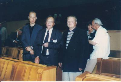 Algimantas Lelešius. Tremtiniai iš Kazlų rūdos. 2000-06-12