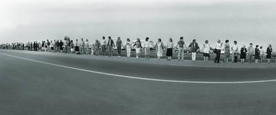 Edmundas Urbonavičius. Marijampoliečiai Baltijos kelyje 1989-08-23