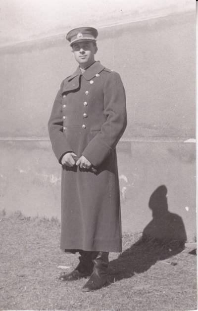 Nežinomas fotografas. Leit. Pazojus iš Troškūnų. Karo mokykla Marijampolėje 1944 m. 1944