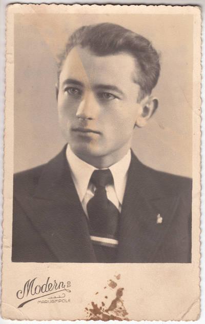 Portretinė fotografija. 1938