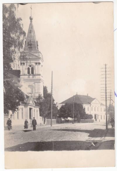 Nežinomas fotografas. Evangelikų liuteronų bažnyčia  Marijampolėje.