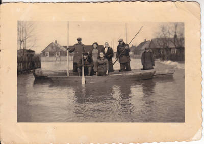 Nežinomas fotografas. Potvynis Marijampolėje 1940 m. 1940
