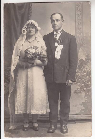 Movšė Buhalteris. Vestuvės Skriaudžiuose. 1900