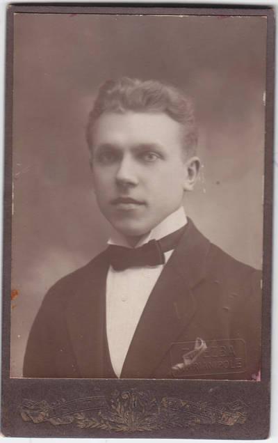 Z. Tezba. Mokytojas Litinskas. 1900
