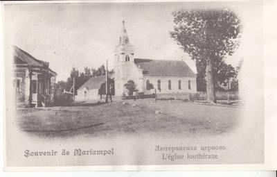 Evangelikų Liuteronų bažnyčia Marijampolėje XXa. pradžia