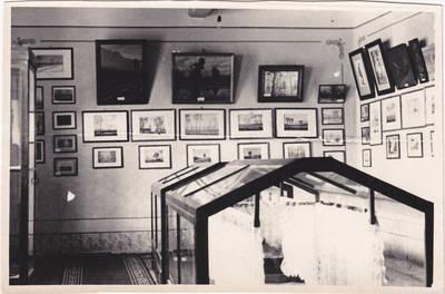 Nežinomas fotografas. Liaudies meno meistrų darbų paroda Marijampolėje 1960 m. 1960