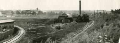 Nežinomas autorius. Plytinė ir Vandentiekio stotis Klaipėdos apylinkėse. 1930