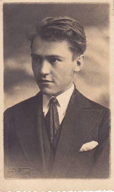 Boleslovas Savsenavičius. Nuotrauka. Benediktas Babrauskas. 1934