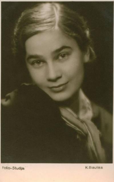 Karlas Baulas. Nuotrauka. Danutė Lipčiūtė-Augienė. 1937