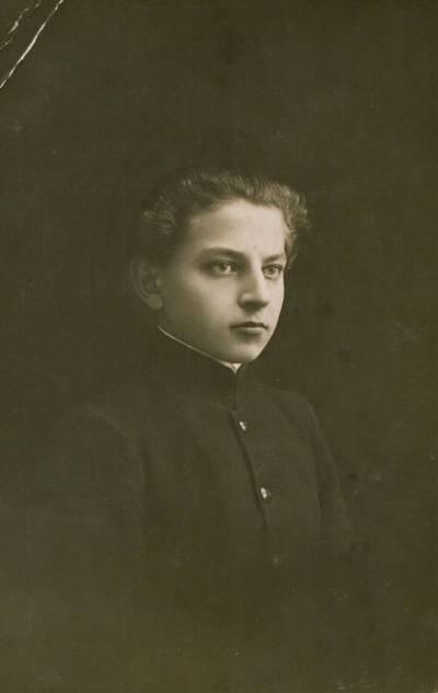 Jankelis Trakmanas. Nuotrauka. Bronys Raila. 1925