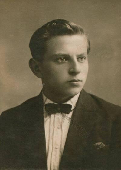 Nežinomas fotografas. Nuotrauka. Bronys Raila. 1927