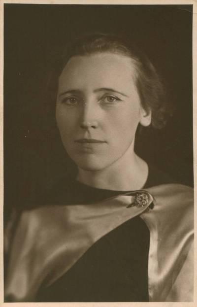 O. Lehmann. Nuotrauka. Ieva Simonaitytė. 1938