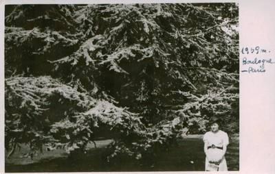 Nežinomas fotografas. Nuotrauka. Julija Švabaitė Bulonės miške. 1939