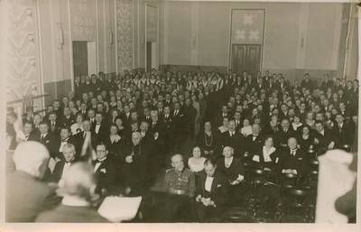 Nežinomas fotografas. Nuotrauka. Minėjimo žiūrovai. 1930