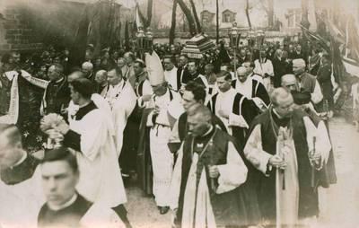 Nežinomas fotografas. Nuotrauka. Juozo Tumo-Vaižganto laidotuvės. 1933