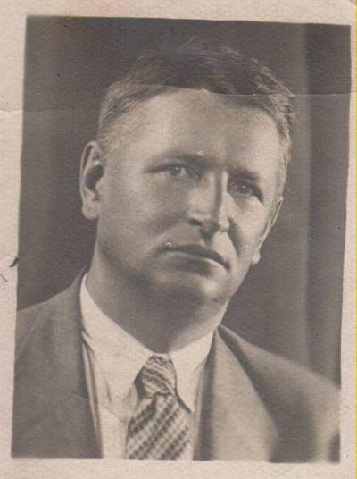 Nežinomas autorius. Nuotrauka. Rašytojas Balys Sruoga. 1938