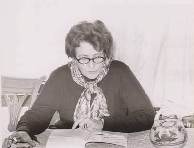 Nuotrauka. Dalia Sruogaitė. 1978
