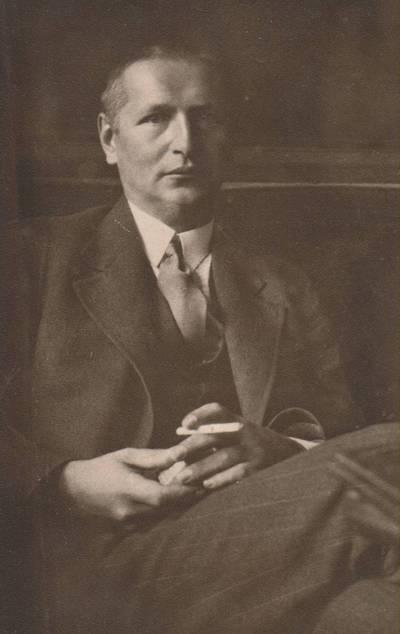 Nežinomas autorius. Nuotrauka. Balys Sruoga. 1932