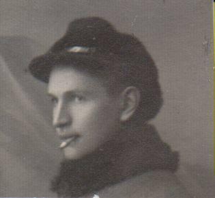 Nežinomas autorius. Nuotrauka. Balys Sruoga. 1918