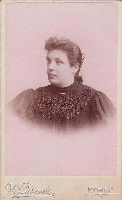 Vladislovas Zatorskis. Nuotrauka. Ona Malakauskaitė-Edelienė. 1875