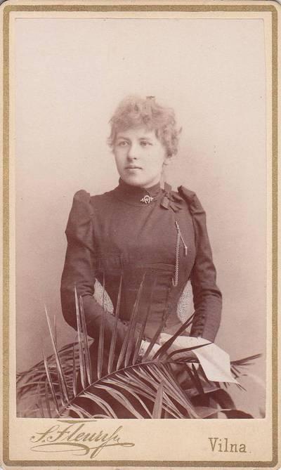 Stanislovas Filibertas Fleris. Nuotrauka. Rudziewiczowa z Gulbinskich. 1900